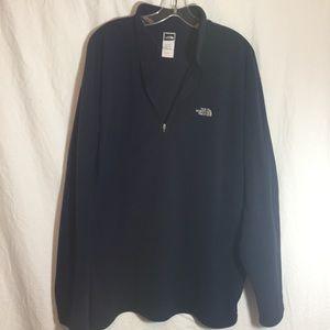 THE NORTH FACE 💙 men's xxl fleece quarter zip